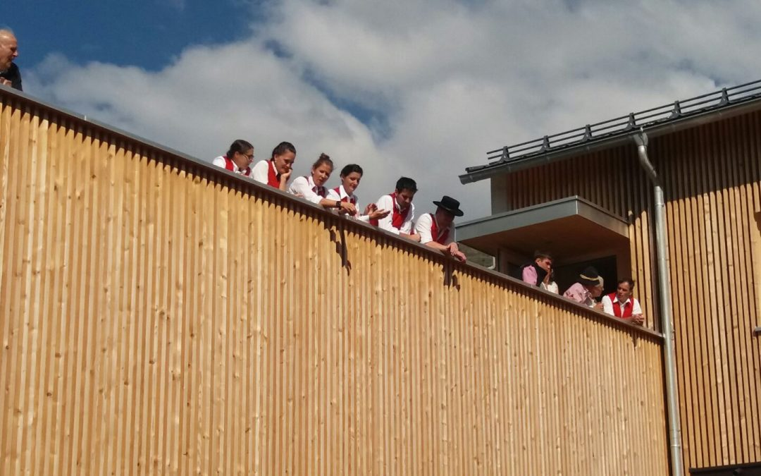 Eröffnung Vereinshaus Fontanella