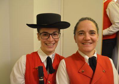 Verena und Annemarie