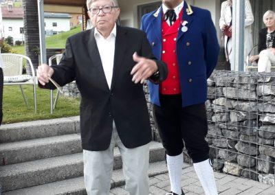 Ehrenkapellmeister und aktueller Kapellmeister