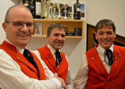 Dietmar, Günther und Helfried